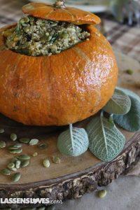 Stuffed+Pumpkin, quinoa+stuffed+pumpkin, vegan+stuffed pumpkin, stuffed+squash
