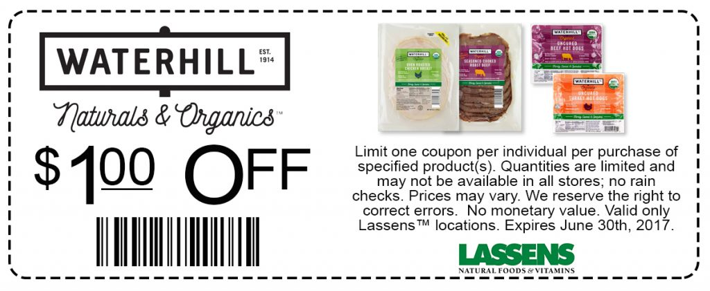 Waterhill Coupon $1 OFF