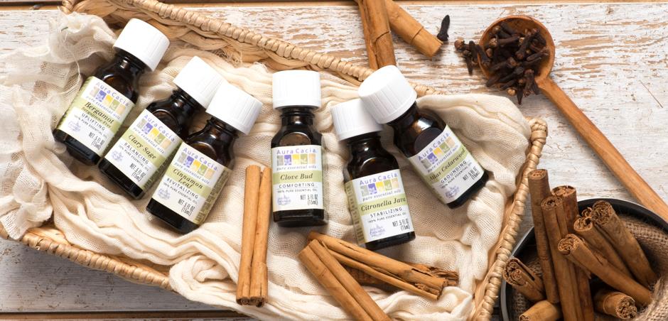 Aura+Cacia, Essential+Oils