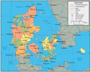 Map+of+Denmark